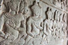 Bas-ανακούφιση Shiva Στοκ φωτογραφία με δικαίωμα ελεύθερης χρήσης