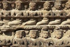 Bas-ανακούφιση Wat Angkor Στοκ εικόνα με δικαίωμα ελεύθερης χρήσης