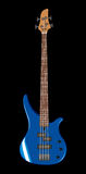 bas- blå gitarrillustrationvektor Royaltyfria Bilder