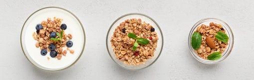 Bas concept de petit déjeuner de calorie photo stock