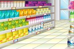 Bas-côté d'épicerie Photos libres de droits