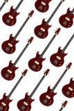 bas- elektriska gitarrer Royaltyfria Foton