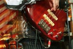 Bas-gitaar Stock Afbeelding