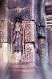 Bas-hulp Angkor, Kambodja stock afbeeldingen