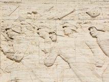 Bas-hulp van Brivibas-piemineklis, Royalty-vrije Stock Afbeelding