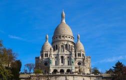 Bas?lica del coraz?n sagrado Sacre Coeur en Par?s Francia En abril de 2019 foto de archivo