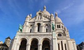 Bas?lica del coraz?n sagrado Sacre Coeur en Par?s Francia En abril de 2019 imagen de archivo