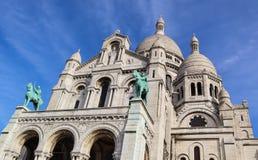 Bas?lica del coraz?n sagrado Sacre Coeur en Par?s Francia En abril de 2019 fotos de archivo