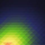 Bas papier peint de fond de polygone de mosaïque colorée Illustr de vecteur Photos stock