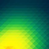 Bas papier peint de fond de polygone de mosaïque colorée Illustr de vecteur Images libres de droits