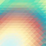 Bas papier peint de fond de polygone de mosaïque colorée Illustr de vecteur Photographie stock