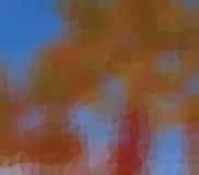 Bas poly fond kaléïdoscopique de mosaïque de style de triangle images stock