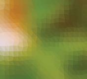 Bas poly fond kaléïdoscopique de mosaïque de style de triangle photographie stock libre de droits