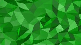 Bas poly fond vert Fond pour le texte illustration libre de droits