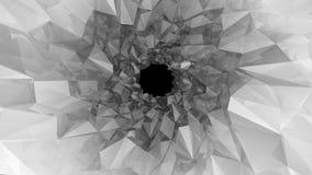 Bas poly tunnel Illustration de Digital Images stock