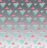 Bas polygone et fond géométrique dans le vintage et le rétro style Image stock