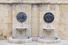 Bas-relevos romanos Imagens de Stock