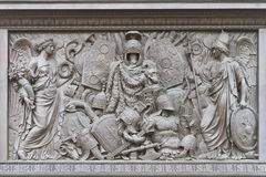A Bas-relief on Alexander Column Stock Images