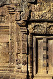 Bas-relief- Angkor, Cambodia Royalty Free Stock Images