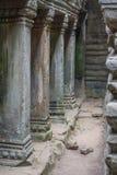 Bas-relief of Angkor, cambodia Stock Photo
