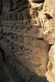 Bas-relief- Angkor Wat, Cambodia Royalty Free Stock Photography