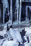 Bas-relief- Angkor Wat ruins, Cambodia Royalty Free Stock Photography