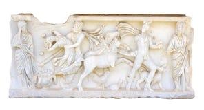 Bas-relief antiguo Fotografía de archivo