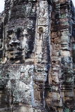 Bas-relief antique au Cambodge image stock