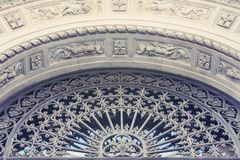 The bas-relief. Architectural detail Royalty Free Stock Photo