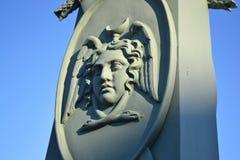 Bas-relief, St. Petersburg. Stock Photo