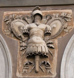 Bas-relief of armor Stock Image
