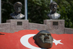 Bas-relief of Ataturk Royalty Free Stock Image
