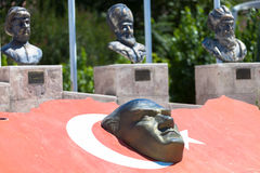Bas-relief of Ataturk Stock Image