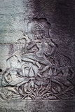 Bas relief in Banteay Srei, Cambodia Stock Photography