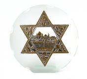 Bas-relief de Jerusalem Imagens de Stock Royalty Free