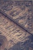 Bas-relief de la cathédrale de Ferrare Photographie stock libre de droits
