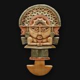 Bas-relief de pedra que cinzela América latin Fotos de Stock Royalty Free