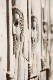Bas-relief de soldados persas Imagenes de archivo