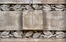 Bas-relief detail close-up Royalty Free Stock Photo