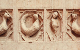 Bas relief Stock Photography