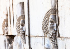 Bas-relief en Iran Image libre de droits