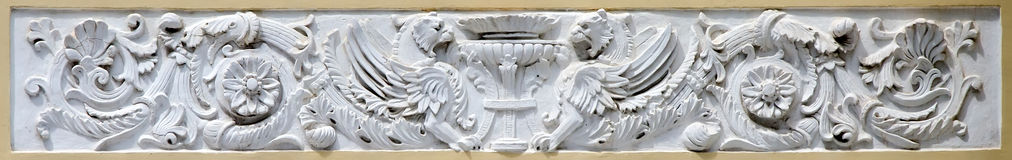 Bas-relief in Feodosia Stock Photography
