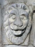 Bas-relief head of a lion Royalty Free Stock Photography