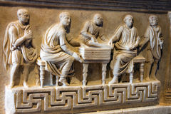 Bas-relief inside the Coliseum Royalty Free Stock Photos
