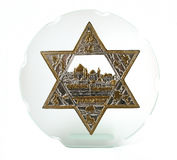 Bas-relief of Jerusalem Royalty Free Stock Images