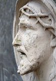 Bas-relief of Jesus Face Royalty Free Stock Photos