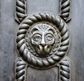 Bas-relief of a lion Royalty Free Stock Image