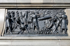 Bas-relief on the monument to Admiral Nakhimov Stock Images