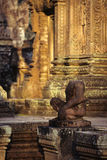 Bas-relief- near Phnom Penh, Cambodia Royalty Free Stock Image