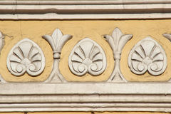 Bas-relief on the old building Royalty Free Stock Images